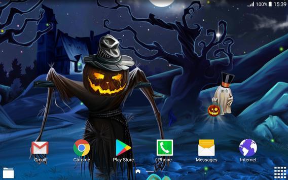 Spooky Halloween Live Wallpaper screenshot 5