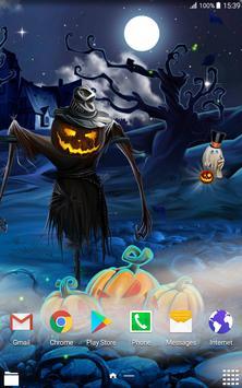 Spooky Halloween Live Wallpaper screenshot 6