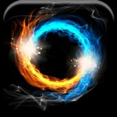 Fire & Ice Live Wallpaper icon