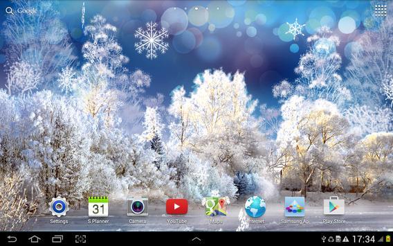 Snowfall Live Wallpaper screenshot 6