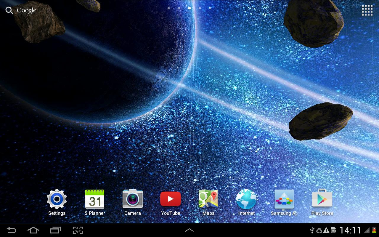 HD Space Live Wallpaper for Android - APK Download