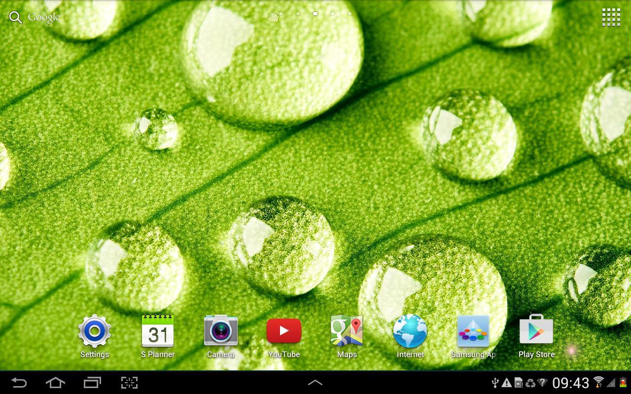 Spring Live Wallpaper HD Apk Screenshot