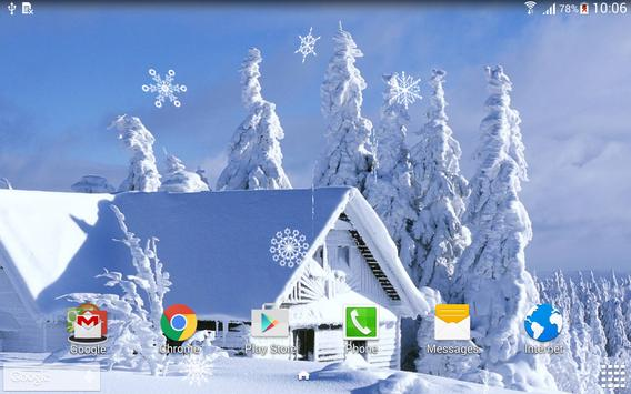 Winter Live Wallpaper Screenshot 9
