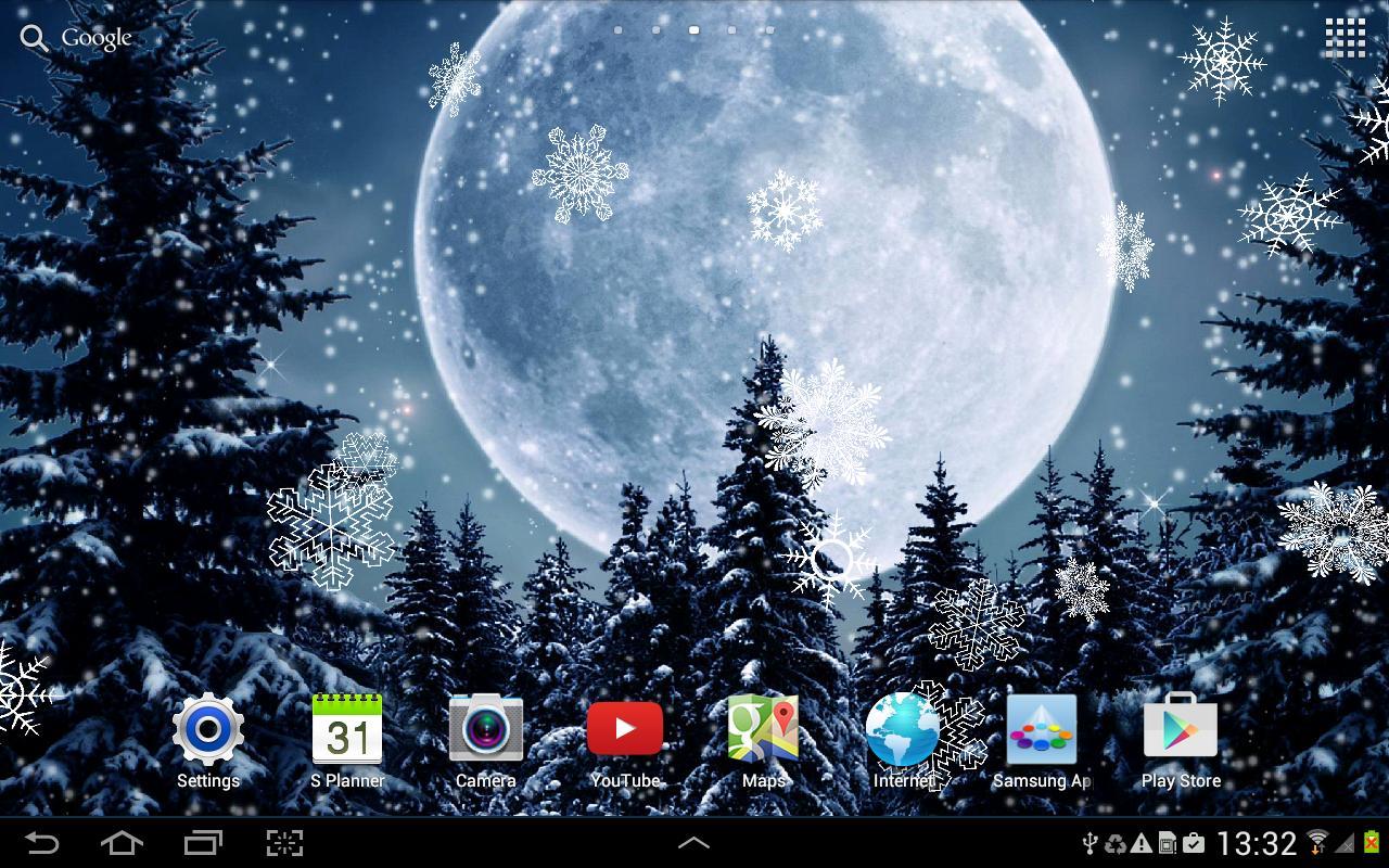 Citaten Winter Apk : Winter night live wallpaper apk download free