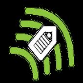 Simple RFID icon