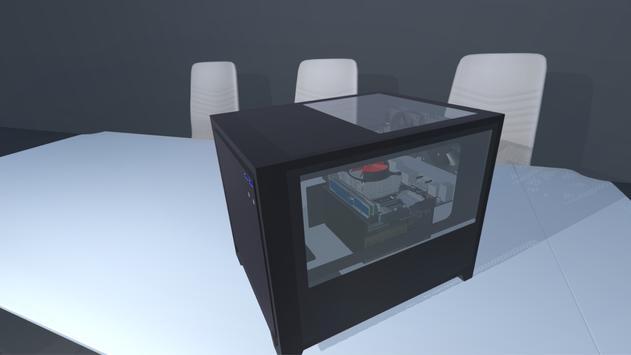 PC build simulator 3D poster