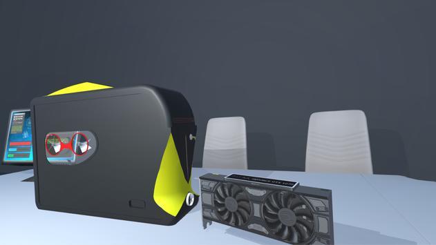 PC build simulator 3D apk screenshot