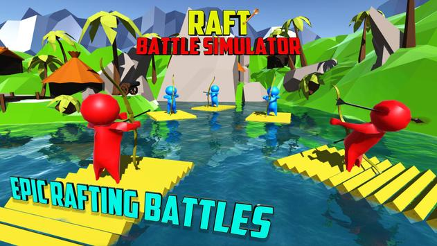 Raft Battle Simulator poster