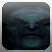 Black Demon Fire Flames LWP icon