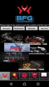 Black Fire Gear poster
