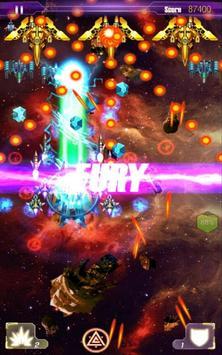 Galaxy fighter : zero aircraft apk screenshot