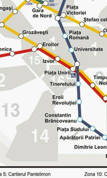 Harta Metrou Bucuresti screenshot 1