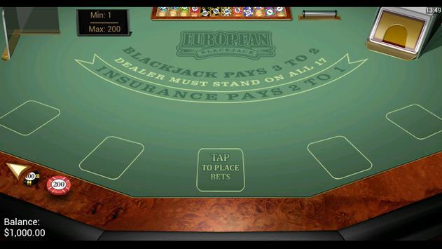 Black Jack Gold apk screenshot
