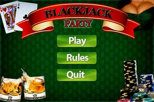 BlackJack Party poster