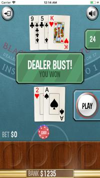 Blackjack 21 screenshot 2
