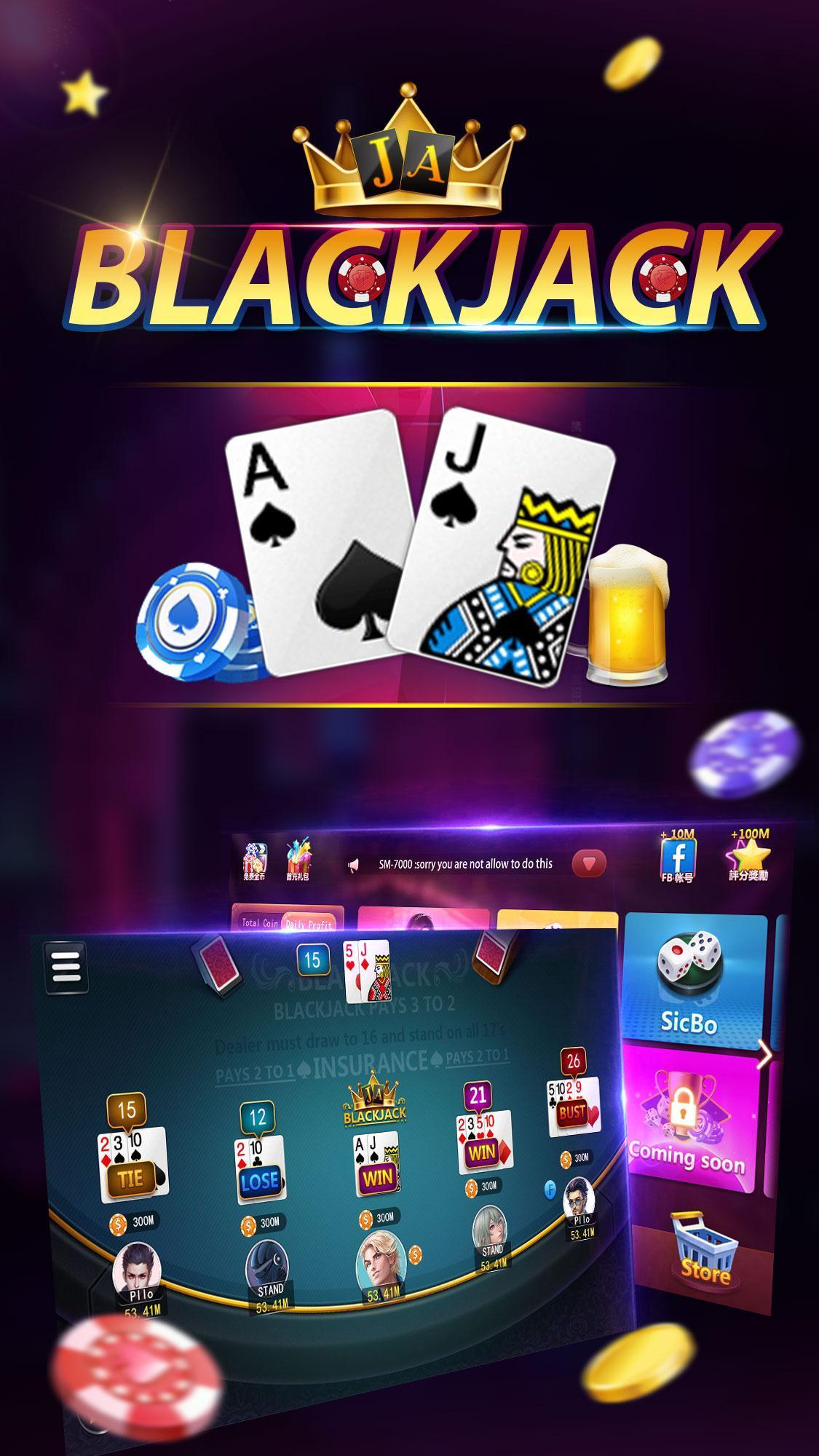 Blackjack 21 Online Free Coins For Android Apk Download