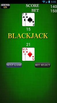 BlackJack Free Bets poster