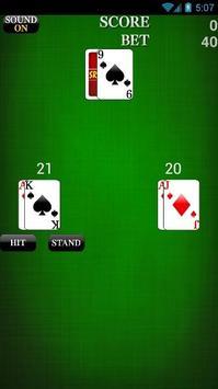 BlackJack Free Bets screenshot 3