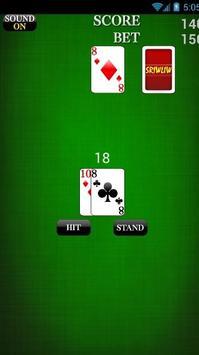 BlackJack Free Bets screenshot 4