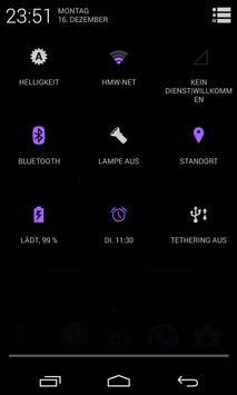 BetterKat CM11 Theme Purple apk screenshot