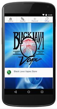 Black Lava Vape apk screenshot