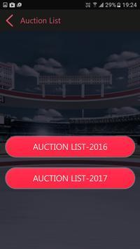 Schedule for IPL 2017 apk screenshot