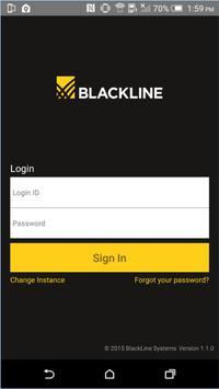 Blackline poster