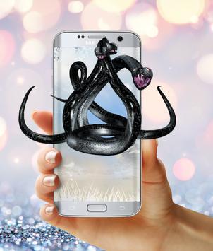 Black snakes on phone (Prank) apk screenshot