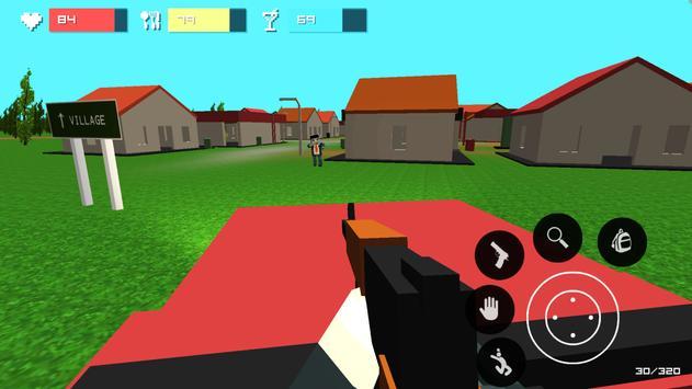 Pixel unturned: survivalcraft apk screenshot