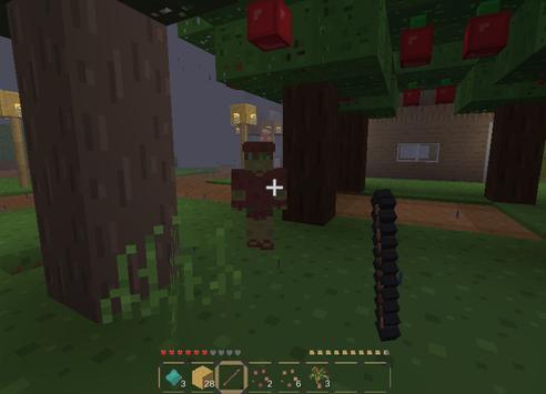 Craft story: walking dead apk screenshot