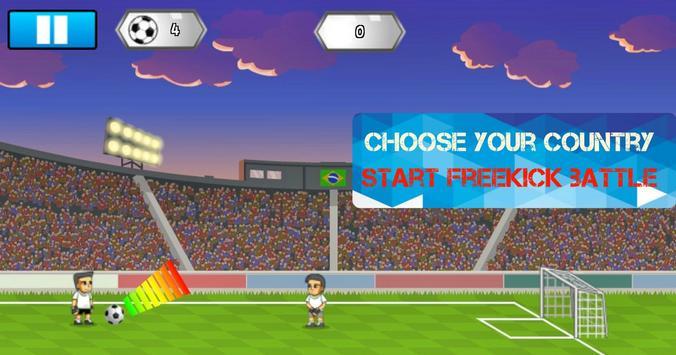 Freekick Battle Game screenshot 1