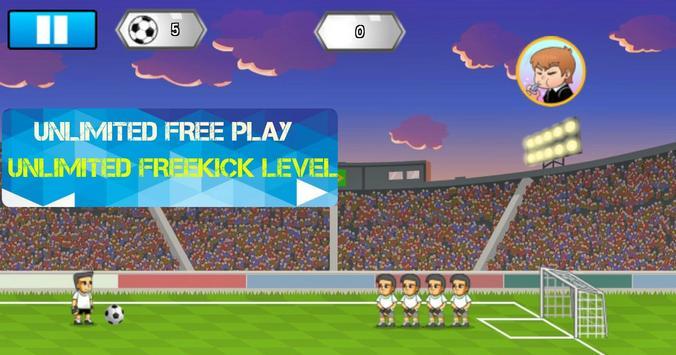 Freekick Battle Game screenshot 2