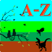 AtoZ Animal Name  - Kids Learning App icon