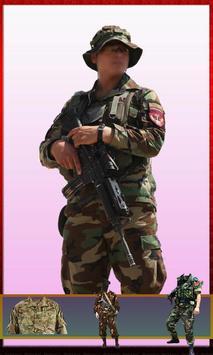 Afghan Army Suit Changer - Uniform Editor 2018 screenshot 1