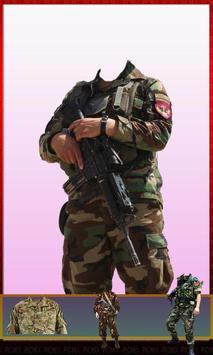 Afghan Army Suit Changer - Uniform Editor 2018 screenshot 2