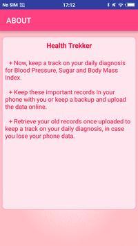 Health Trekker apk screenshot