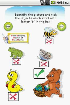 Letter B for LKG Kids Practice screenshot 2