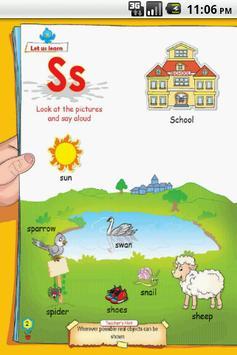 Letter S for LKG Kids Practice screenshot 1
