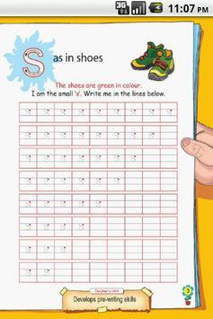 Letter S for LKG Kids Practice screenshot 2