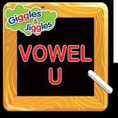 Letter U for LKG Kids Practice - Giggles & Jiggles icon