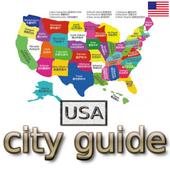 USA Travel City Guide icon