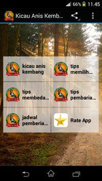 Kicau Anis Kembang poster