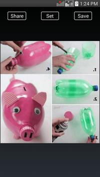 DIY Crafts Plastic Bottles screenshot 5