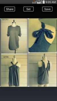 DIY Fashion Clothes Ideas screenshot 13
