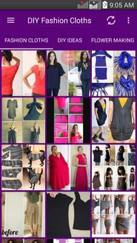 DIY Fashion Clothes Ideas screenshot 1