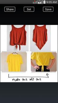 DIY Fashion Clothes Ideas screenshot 2