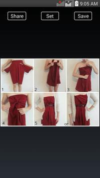 DIY Fashion Clothes Ideas screenshot 7