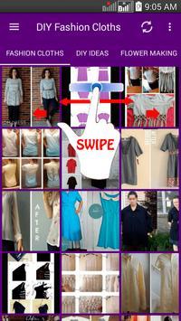 DIY Fashion Clothes Ideas screenshot 6