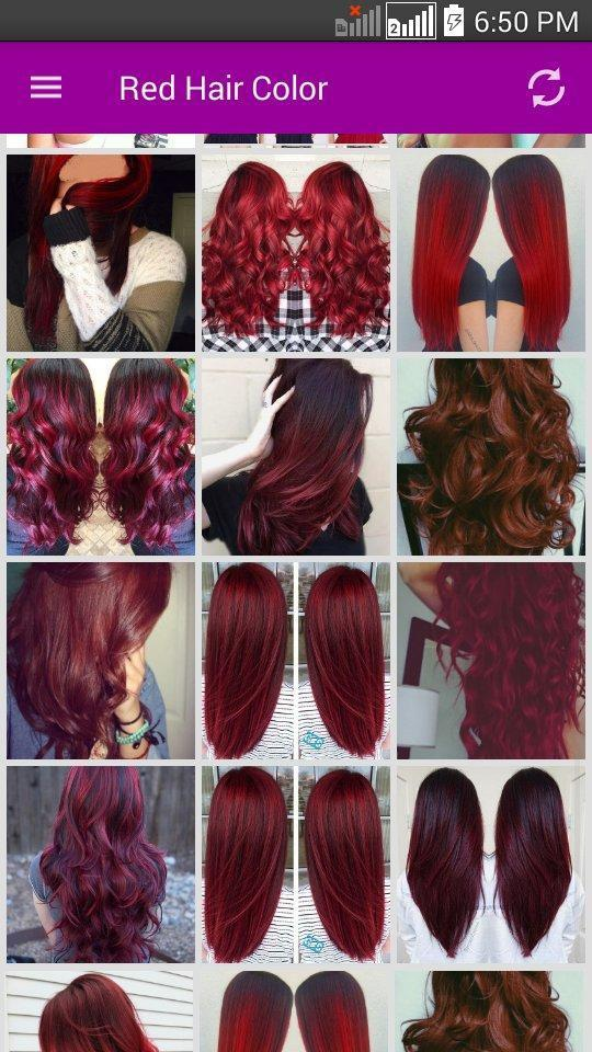 Fabby Red Roblox Hair Color For Android Apk Download