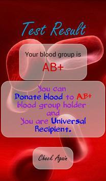 Blood Group Prank screenshot 3